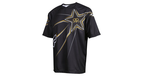 Fox Rockstar Demo Short Sleeve Jersey Men black